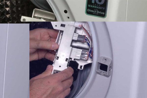 قفل درب ماشین لباسشویی