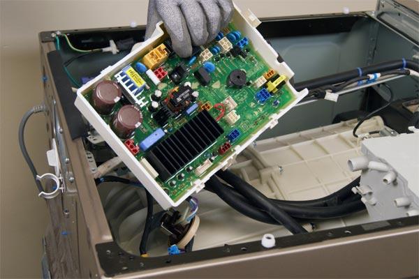 برد کنترلی موتور ماشین لباسشویی