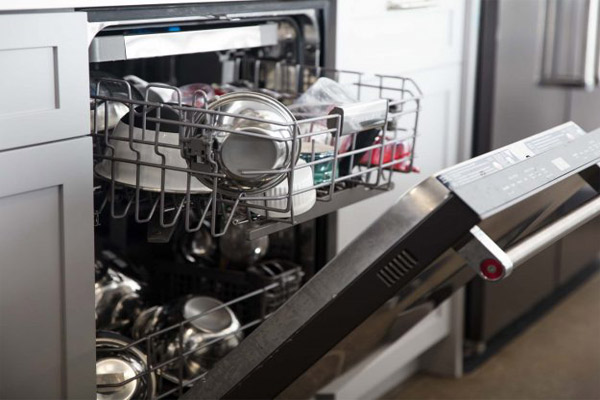 تمیز کردن ماشین ظرفشویی