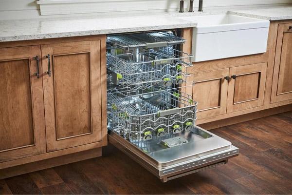 نحوه تمیز کردن و جرم گیری ماشین ظرفشویی