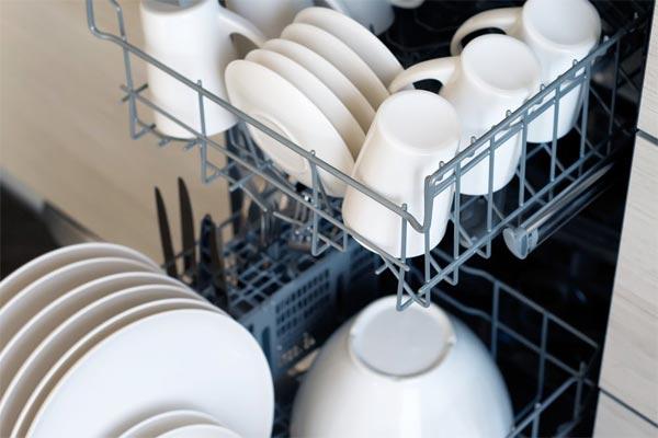 تمیز نشدن ظروف ماشین ظرفشویی