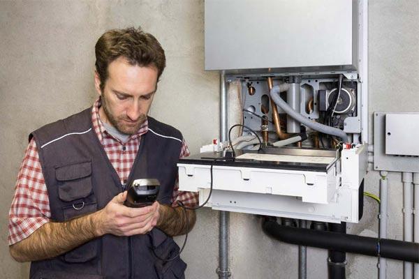 تنظیم کردن فشار آب و گاز پکیج