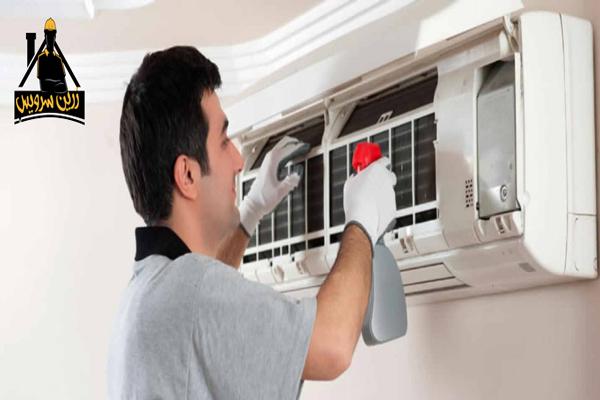 آموزش نحوه شستشوی پنل داخلی کولر گازی