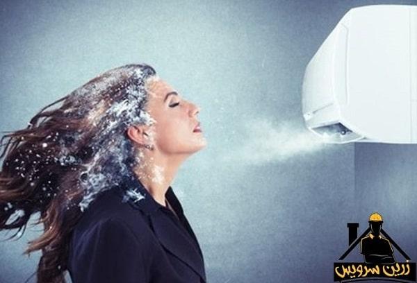 علت گرم نکردن کولر گازی